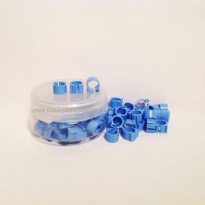 Cleme albastre 8x8mm(50buc)