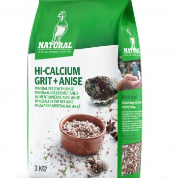 Hi-Calcium Grit + Anis (3kg)